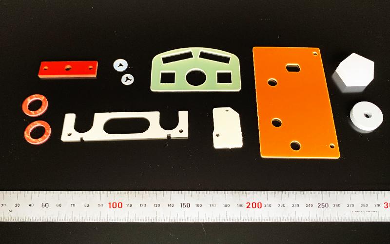硬質樹脂の加工品